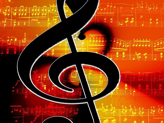 Clef, Music, Lines, Notenblatt, Treble Clef, Tonkunst