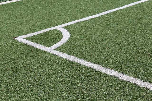 Corner, Soccer Field, Lines, Synthetic Grass