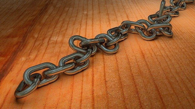 Chain, Metal Chain, Link, Links Of The Chain, 3d