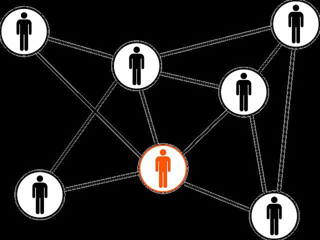Linked, Connected, Network, Team, Teamwork, Black, Men