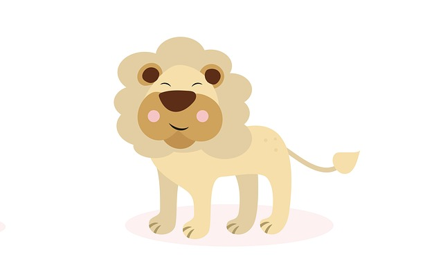 Lion, Cute, Sketch, Funny, Fictional Character