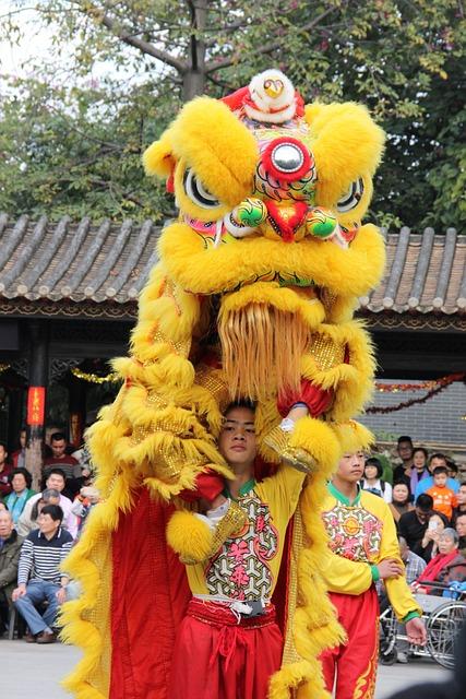 Lion, Foshan, Festive, Festival, Lion Dance Shengping