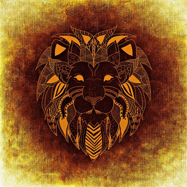 Lion, Wild Animal, Abstract, Background, Funny, Texture
