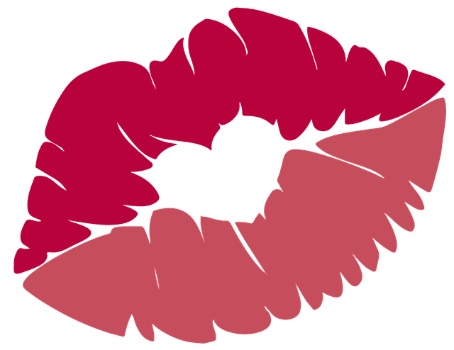 Kiss, Lips, Mouth, Red, Love, Rosa, Heart, Valentine