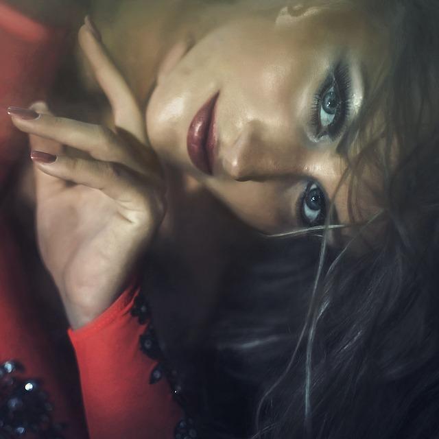 Girl, Eyes, Lips, View, Model