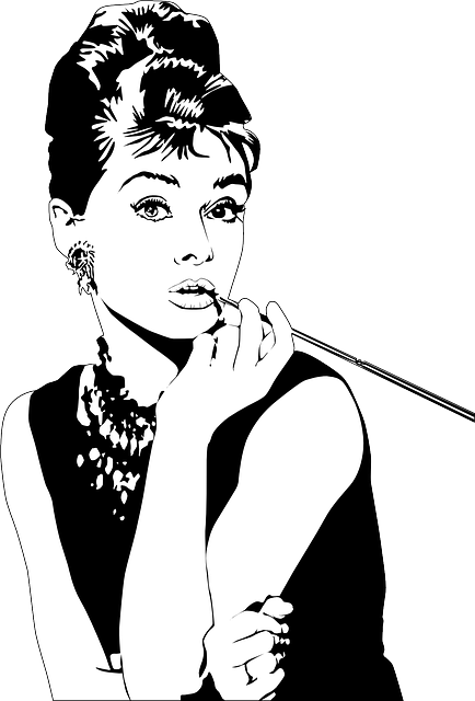 Audrey Hepburn, Actress, Lipstick, Woman, Beauty, Model