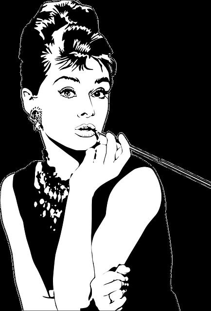Audrey Hepburn, Actress, Lipstick, Woman, Beauty, Model