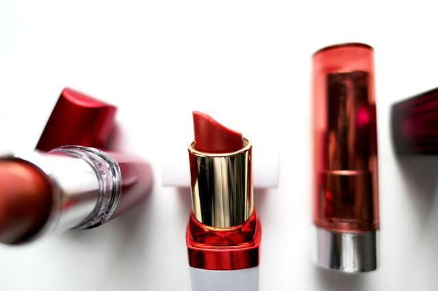 Lipsticks, Cosmetics, Make Up, Beauty, Red, Feminine