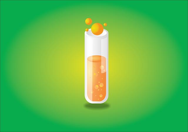 Test Tube, Experiment, Liquid, Reaction, Bubbling