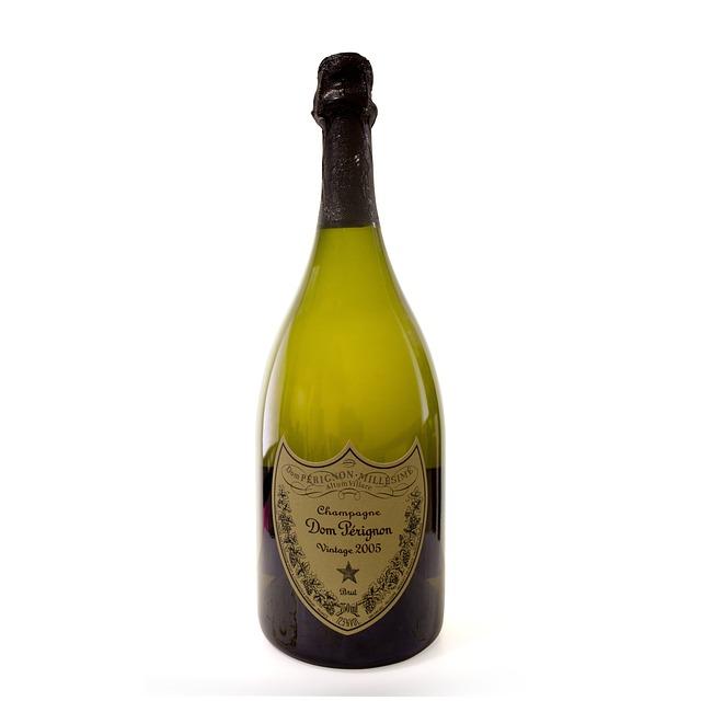 Dom Perignon, Liquor, Bottle, Champagne, Sun, Perignon