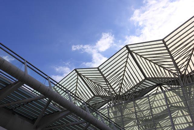 Portugal, Lisbon, Expo, Roof, Entrance