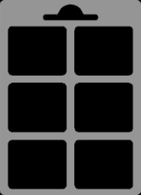 List, Photo, Frame, Grey