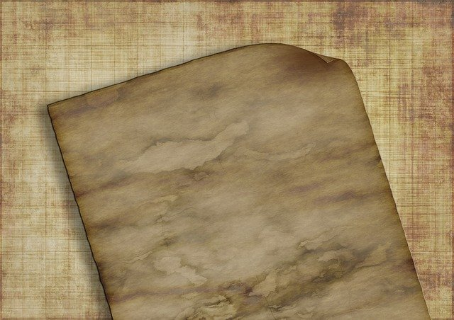 Paper, Texture, Old, Structure, Parchment, Yellow, List