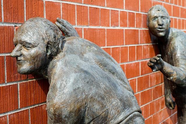 Sculpture, Bronze, The Listening, Listen To, To Listen