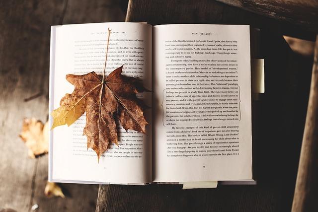 Read, Nature, Literature, Leaf, Autumn, Fall, Knowledge