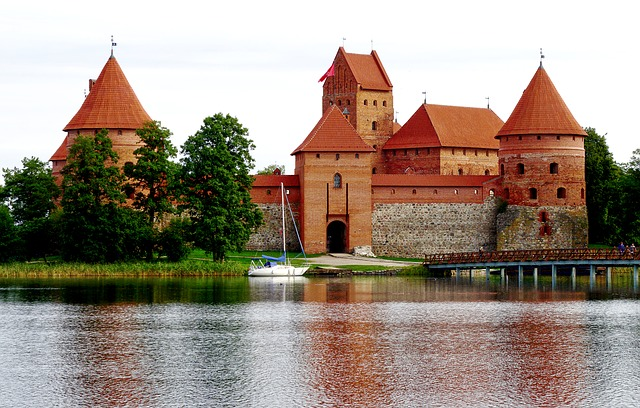 Trakai Castle, Wasserburg, Late Middle Ages, Lithuania