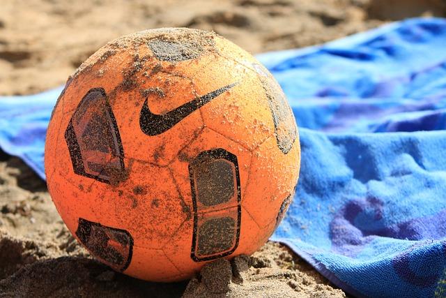 Ball, Beach, Sport, Orange, Nike, Beira Mar, Litoral