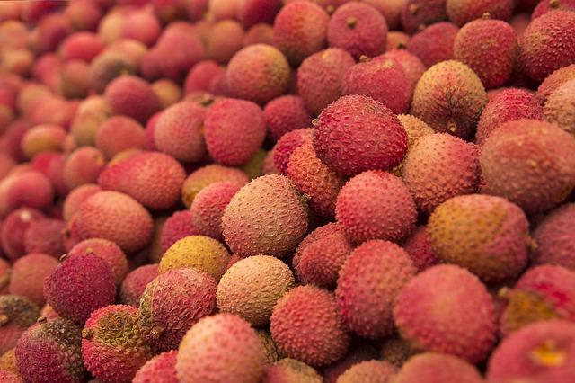 Lychee, Fruit, Fresh, Food, Healthy, Tropical, Litschi