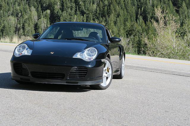 Porsche, 911, 996, Turbo, Little Cottonwood, Coupe, Car