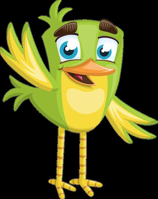 Bird, Little, Small, Cute, Boy, Green, Welcome, Hello