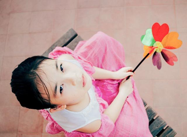 Little Girl, Windmill, Childhood