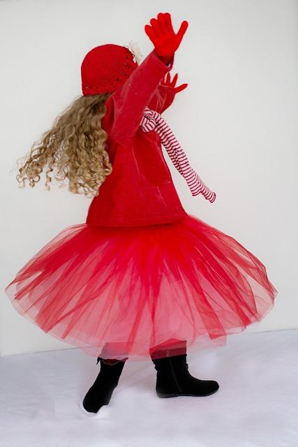Little Girl, Dancing, Spinning, Twirling, Happy, Joy