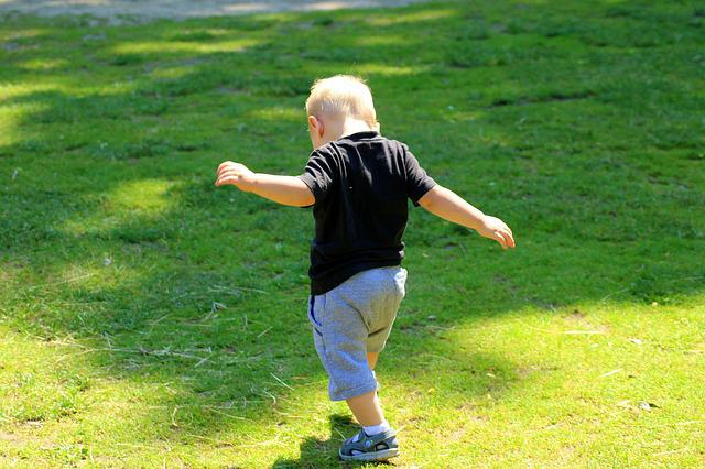 Child, Little Man, First Steps, Boy, Childhood
