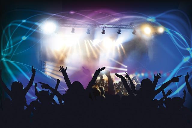 Live Concert, Dance Club, Disco, Laser, Laser Show