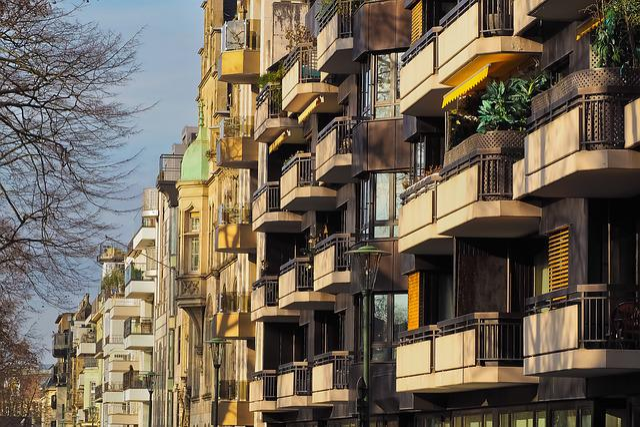 Architecture, Balconies, Facade, Building, Live, City