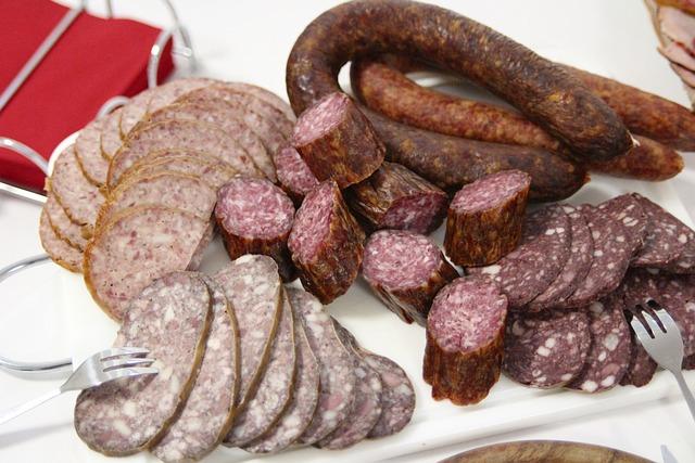 Sausage, Feast, Blood Sausage, Liver Sausage