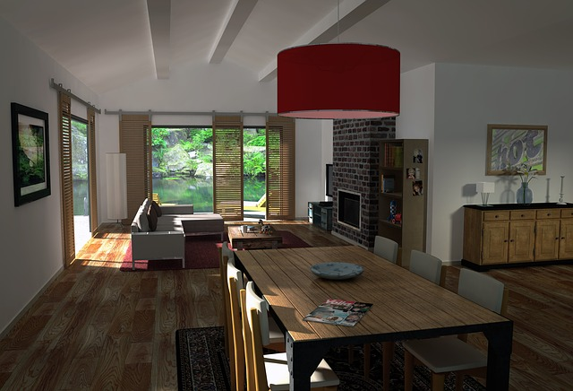 Living, 3d, Archi, Living Room, Dining Room, Made