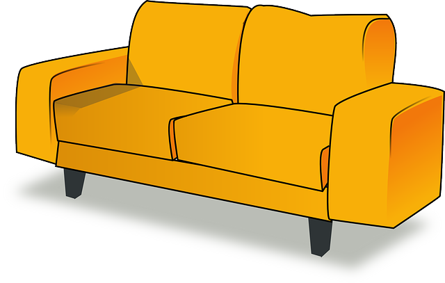 Settee, Sofa, Couch, Furniture, Livingroom, Living Room