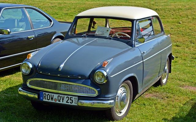 Oldtimer, Lloyd, Lloyd Alexander Ts, Auto, Old, Classic
