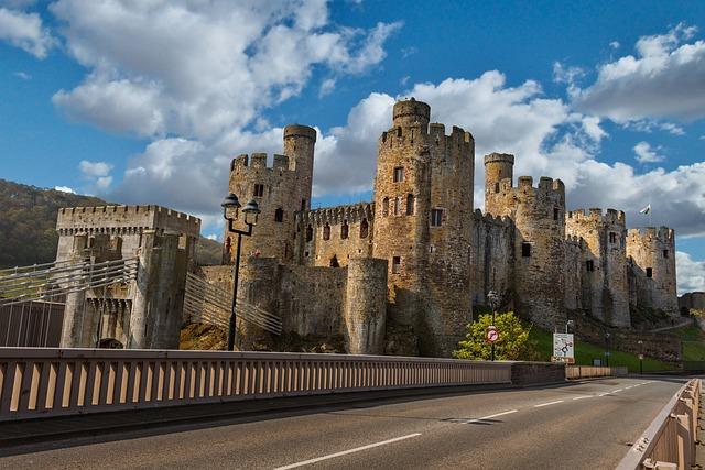 Conway Castle, Llundudno, Wales, Castle, Historical