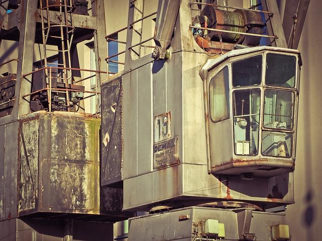 Loading Crane, Crane, Port, Load Crane, Harbour Crane