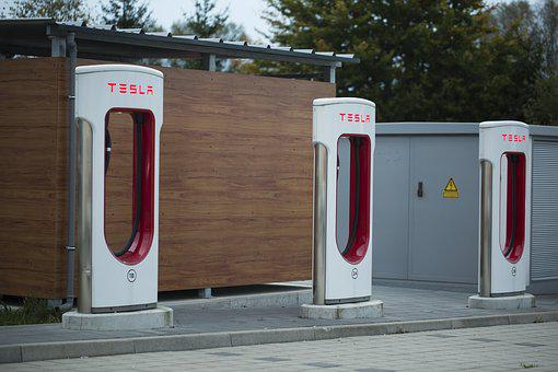 free photo tesla charging station parking max pixel. Black Bedroom Furniture Sets. Home Design Ideas