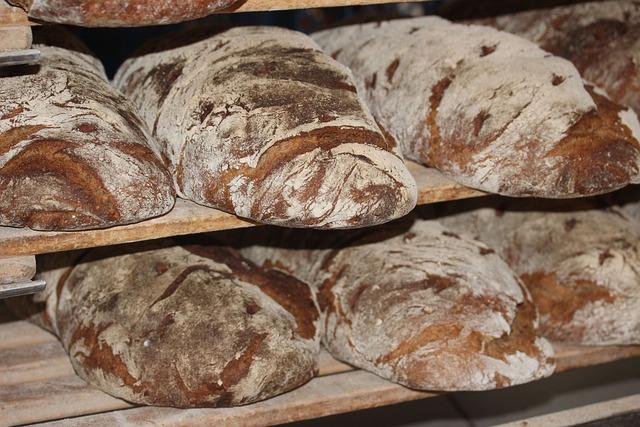 Farmer's Bread, Bread, Loaf Of Bread, Baker, Vespers