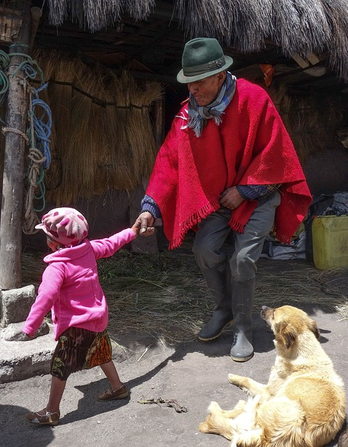 Local Community, Quechua Indians, Grandpa