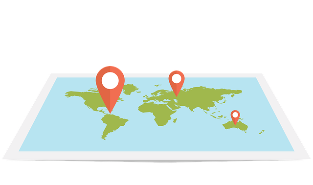 Web, Map, Flat, Design, Pin, World, Travel, Gps, Local