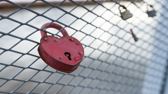 Lock, Fence, Heart, Love