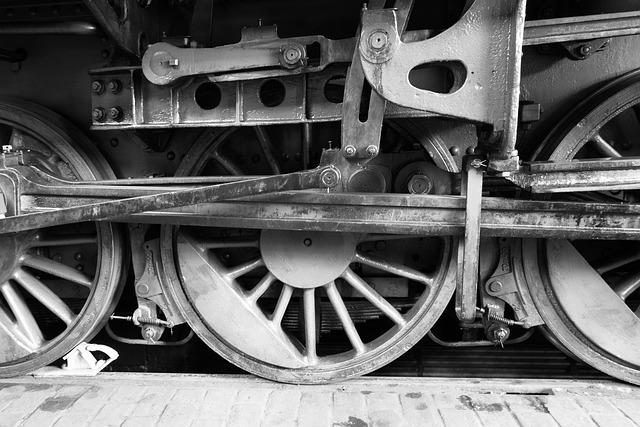 Lock, Railway, Wheel, Steam Locomotive, Locomotive