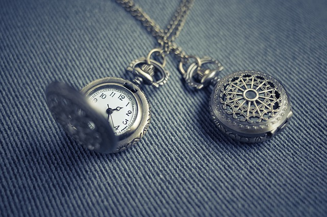 Locket, Pendant, Necklace, Watch