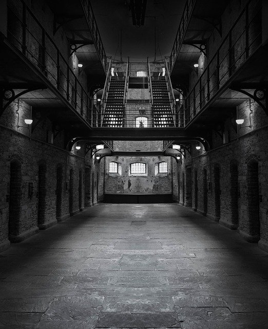 Prison, Jail, Dark, Creepy, Lockup, Incarceration