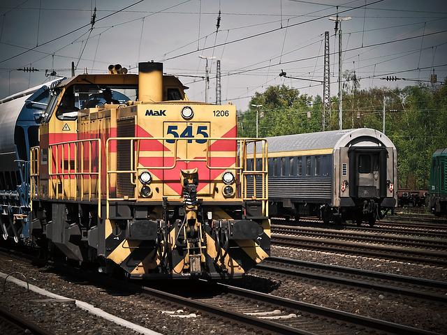 Locomotive, Train, Railway, Loco, Rails, Transport