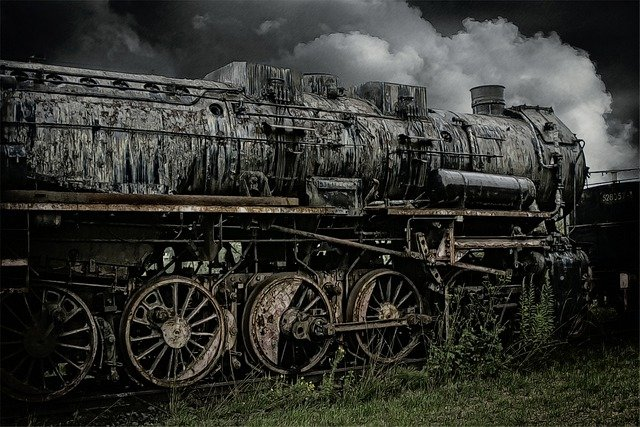 Loco, Steam Locomotive, Train, Railway, Out Of Date