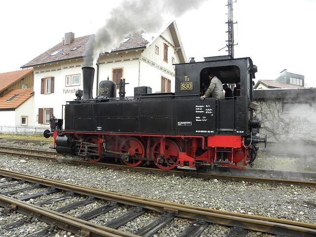 Blackjack, Locomotive, Loco, Train, T3 930, Railway