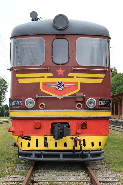 Estonia, Haapsalu, Railway, Museum, Train, Locomotive