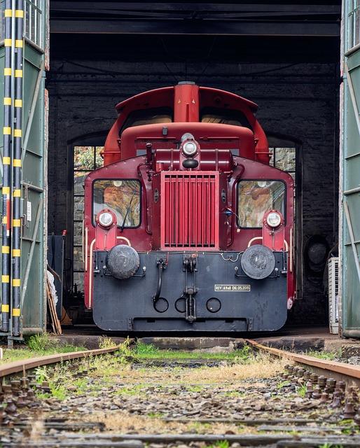 Lock Rail, Locomotive, Lock The Shed, Train, Diesellock