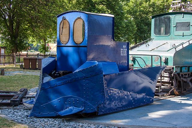 Locomotive, Loco, Snow Plough, Plough, Railway, Train