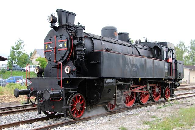 Steam Locomotive, Railway, Locomotive, Loco